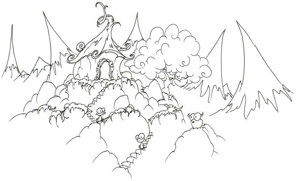 Free Coloring Pages Of Mountains Coloring Pages Of Mountains