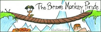 read The Brave Monkey Pirate at bluebison.net