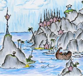 monkey cliffs