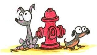 """Obrázek """"http://bluebison.net/sketchbook/2006/0606/dogs_fire_hydrant_small.jpg"""" nelze zobrazit, protože obsahuje chyby."""