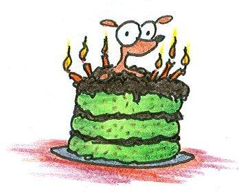 Sugar Free Birthday Cake on Weiner Dog Cake